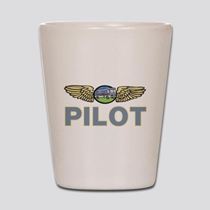 RV Pilot Shot Glass